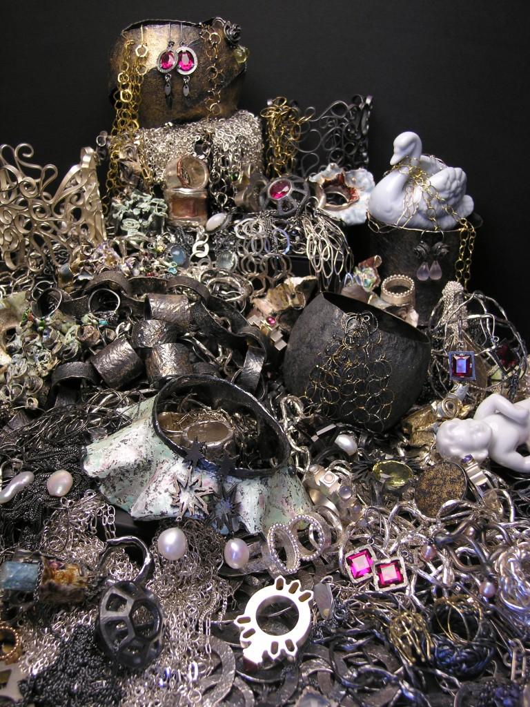 Pile of jewellery